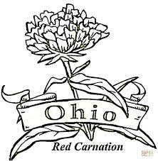 Small Picture State Of Ohio coloring page Free Printable Coloring Pages