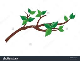 tree branch with leaves vector. clipart tree with branches and leaves. admin branch leaves vector e