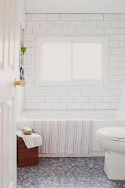 Mosaic bathroom floor from penny tiles - Home Decorating Trends - Homedit