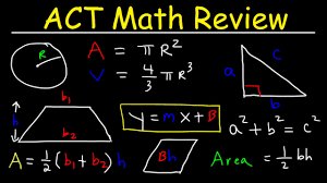 act math prep review practice problems tips and strategies concepts formulas you