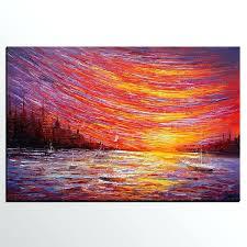 landscape painting canvas sizes best 2018
