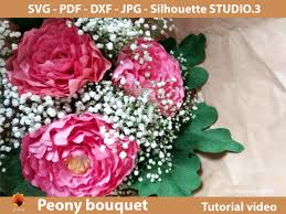 Peonies are simply beautiful and classic. 1 Crepe Flower Paper Designs Graphics