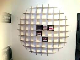 wall shelf decoration mounted storage units large holder amazing shelves design diy cd hanging