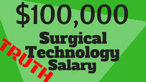 Surgical Tech Salary Surgical Tech Salary Breakdown 100k Income Possible Youtube
