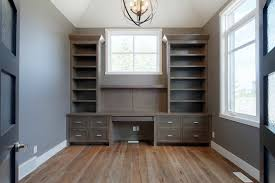 home office built ins. Delighful Built Image By Veranda Estate Homes Interiors With Home Office Built Ins F