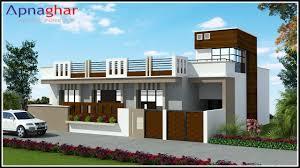 Simplex House Elevation Designs Pin By Apnaghar On Apanghar House Designs Flat Roof House