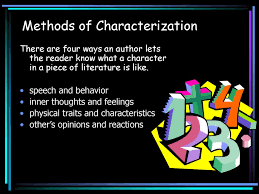 Methods Of Characterization Methods Of Characterization Ppt Download