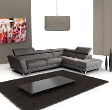 Living Room Corner Furniture Furniture Dark Gray Microfiber Corner Sofa With Chaise Combined