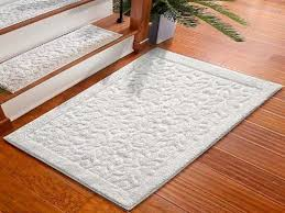 washable small white rug lonielife decoration elegance and within kitchen runner rugs washable
