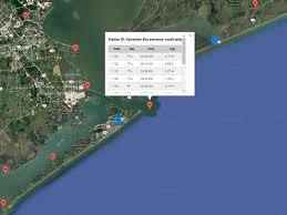 San Luis Pass Tide Chart Texas Tides By Noaa