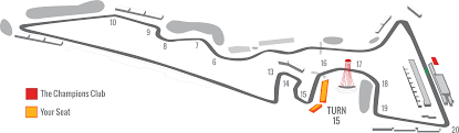 Cota Turn 15 Seating Chart 2020 F1 Usgp Ticket Packages Turn 15