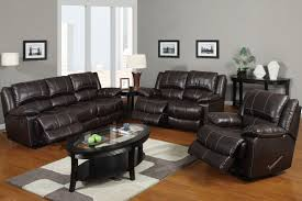Black Leather Sectional Sofa With Recliner Inspirations Leather Reclining Sofas And Loveseats With Ventura