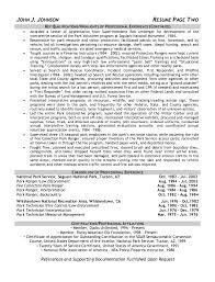 Park Ranger Resume Sample - http://resumesdesign.com/park-ranger