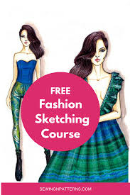 How To Make Fashion Design Dress Make Fashion Sketches Like A Pro In 30 Days In 2019