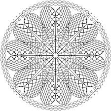 Small Picture Heart Shaped Mandala Coloring Pages Batch Coloring