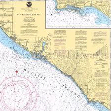 California Nautical Charts California Laguna Beach Nautical Chart Decor