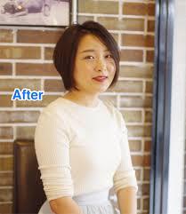 髪型ビフォーアフター伸ばすときも少しは切りましょう Greencutter