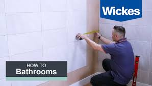 bathroom wall tile. How To Tile A Bathroom Wall With Wickes E