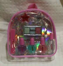 claire s club backpack cosmetic set pink new makeup