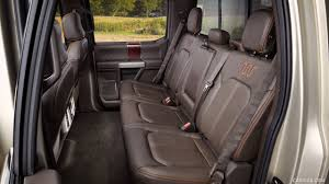 2017 ford f 350 super duty king ranch crew cab interior rear seats wallpaper