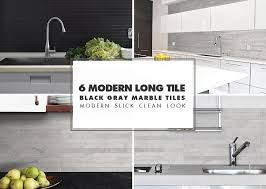 contemporary kitchen backsplash tiles. modern kitchen backsplash ideas-black gray contemporary tiles