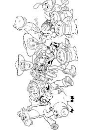 Toy Story Personaggi Disegni Da Colorare E Stampare Gratis