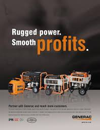 Image Construction Generac Magazine Ad Coroflot Print And Trade Show By Kenny Lapins At Coroflotcom