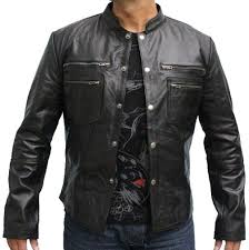 classyak fashion original leather jacket black mark high quality lambskin xs 5xl