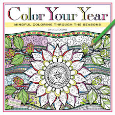 Color Your Year With An Adult