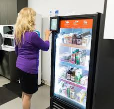 How To Break Into A Vending Machine For Food Inspiration Byte Foods Vending USA Tech Apple Pay Newco CX Touch Cupcake