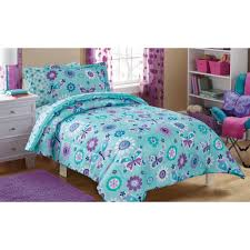 mainstays kids butterfly floral bed in a bag bedding set  walmartcom