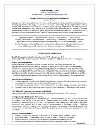 Human Resources Generalist Resume Sample Cover Letter