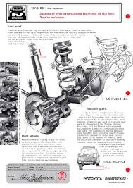 toyota fj cruiser technical illustrations fj cruiser rear suspension