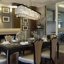 dining room large dining room chandeliers modern rectangle rectangular chandelier linear island crystal light fixtures table