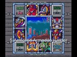 Megaman X One Order To Beat Bosses