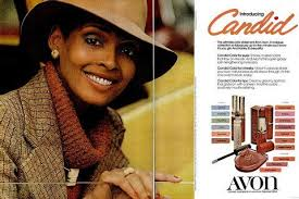 Model Barbara Summers in a 1970s advertisement for Avon. A novelist and  fashion historian, she is the author of Black and Be… | Vintage black  glamour, Retro beauty