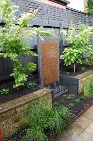even a small water feature is a focal point of any courtyard