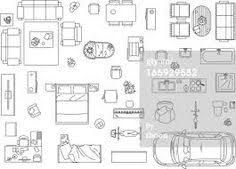 furniture floor plans. Floor Plan Furniture Symbols, Plans With Pinterest