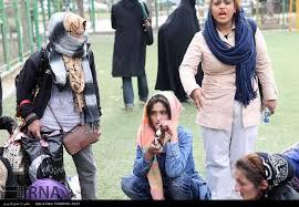 نتیجه تصویری برای زنان معتاد