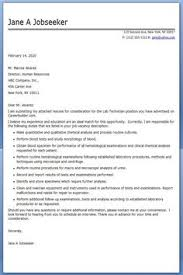 Lab Technician Resume Template   Premium Resume Samples   Example Pinterest