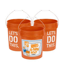 Small Picture The Home Depot 5 Gal Homer Bucket 3 Pack 05GLHD2 The Home Depot