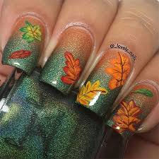 nail designs for fall 2014. 15-best-autumn-leaf-nail-art-designs-ideas- nail designs for fall 2014 g