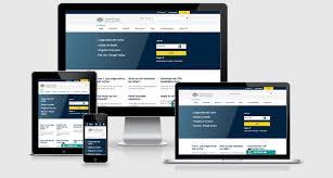 Site Disign Australian Tax Office Examples Responsive Web Design