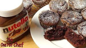 Quick Nutella Icing Recipe 3 Ingredient Nutella Brownie Cupcakes One Pot Chef Youtube