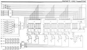 6502 architecture. circuit diagram 6502 architecture