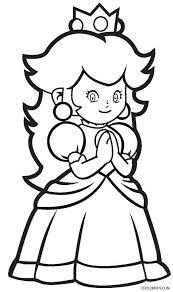 The most common peach colored sheet material is cotton. Printable Princess Peach Coloring Pages For Kids
