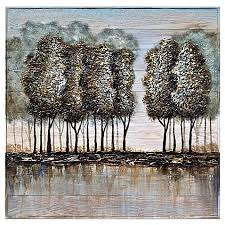 bed bath and beyond wall art trees