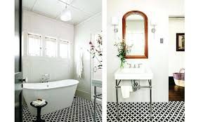 black and white floor tiles black and white cement tile pattern bathroom floor black and white