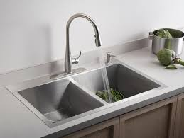iron island sink industrial design