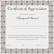 Certificate Of Recognition Template Free Download Certificate Of Recognition Sample Text Marvelous 7 Training